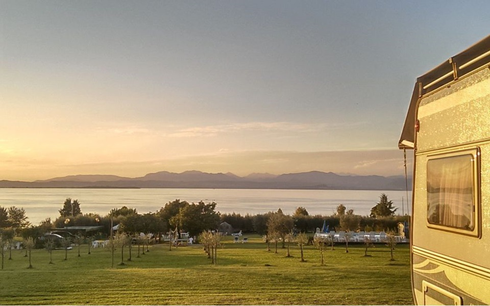 Agricamping Agriturismo Al-Bor bei Lazise am Gardasee